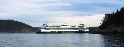Washington ferry in San Juans 29Aug13