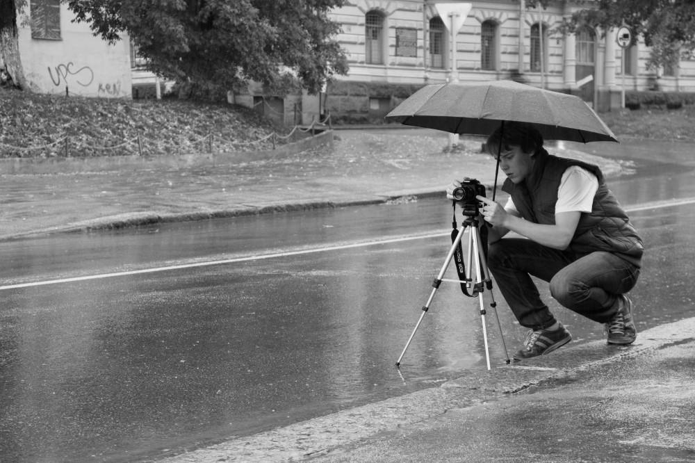Под дождём-2