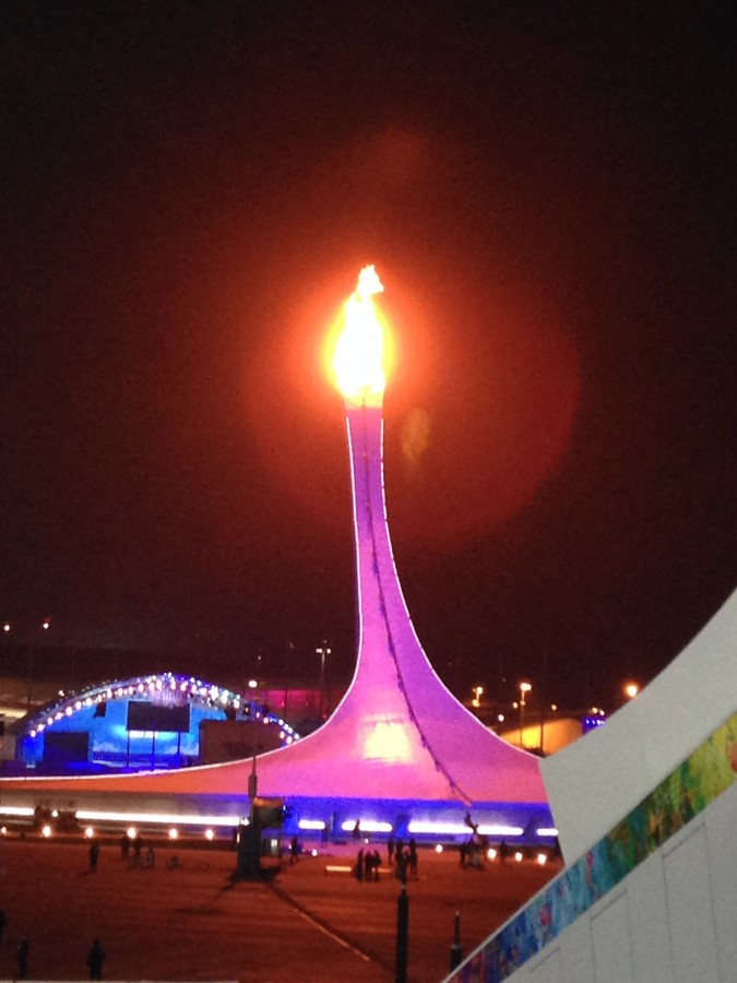 Огонь Олимпиады