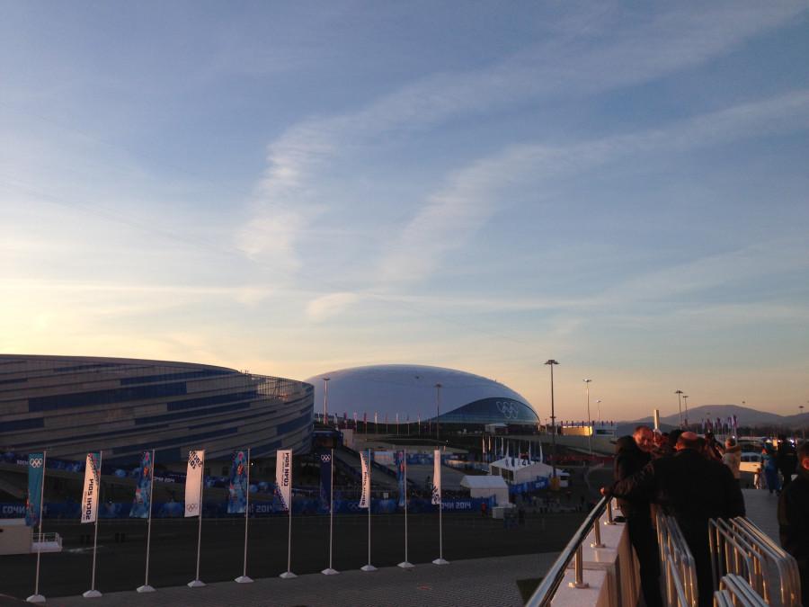 Олимпийские арены