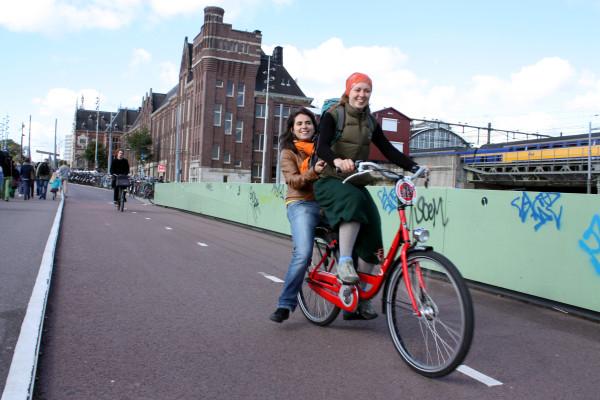Велодорожка должна приносить радость