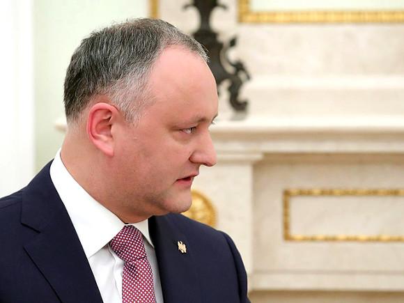 Президент Молдовы поведал, «как господь сделал его президентом»