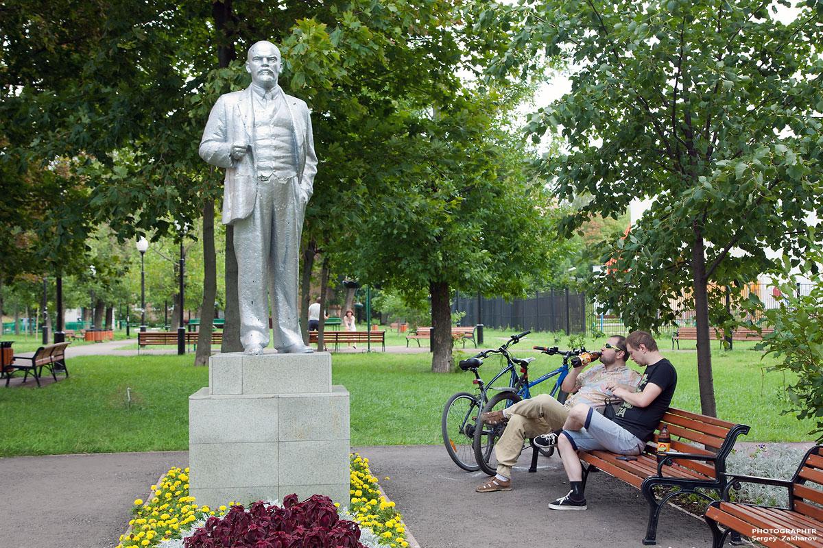 В.И. Ленин. Фотограф Сергей Захаров