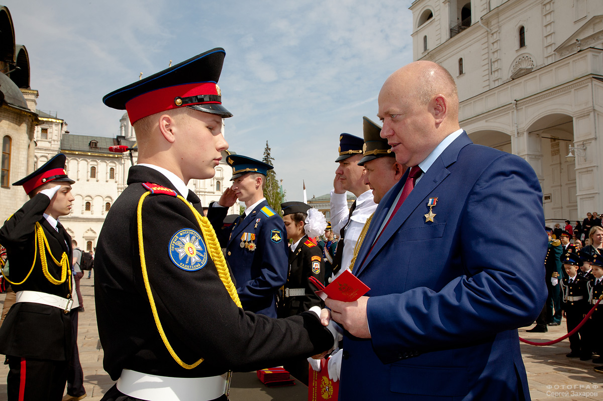 Посвящение в кадеты. Фотограф Сергей Захаров