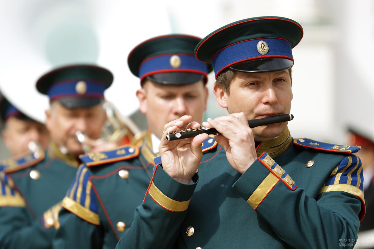 Президентский оркестр. Фотограф Сергей Захаров