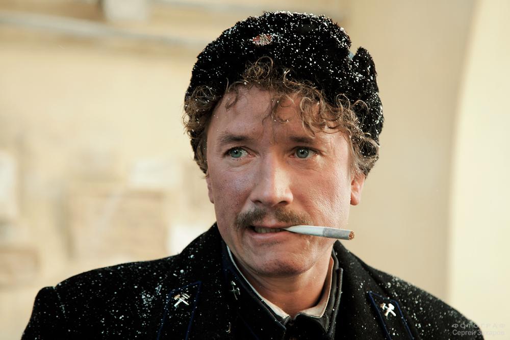Актер Александр Яценко. Фотограф Сергей Захаров