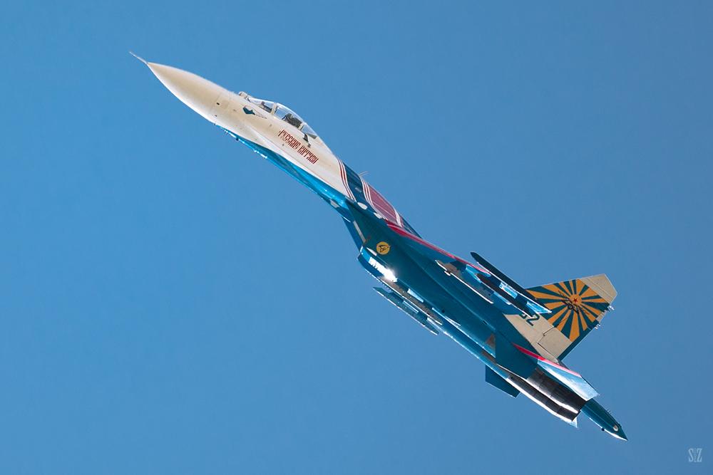 Русские Витязи. Су-27. Фотограф Сергей Захаров