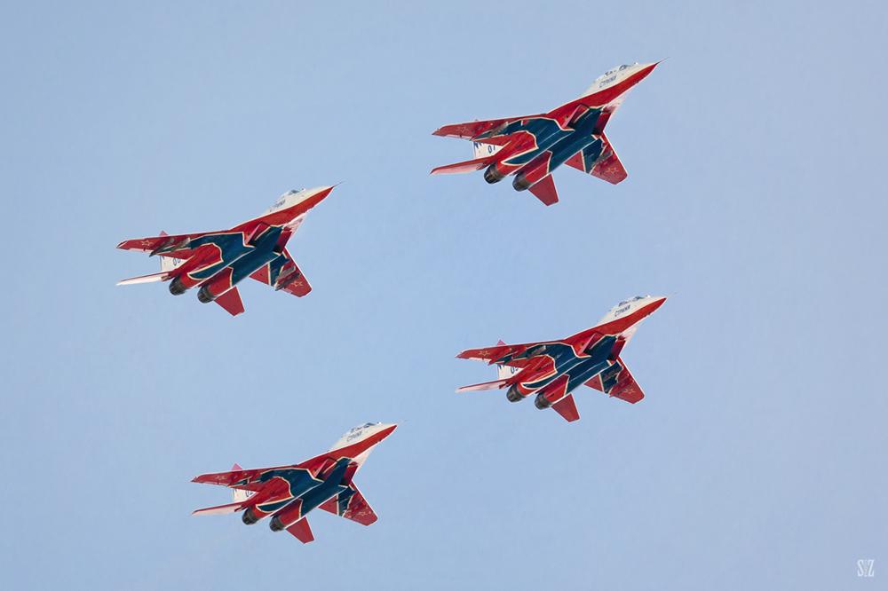 Стрижи. Миг-29. Фотограф Сергей Захаров