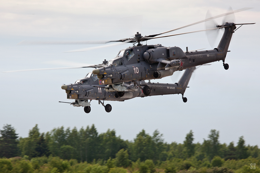 Ми-28Н. Беркуты. Фотограф Сергей Захаров