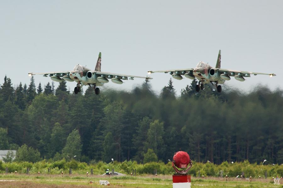 Су-25. Фотограф Сергей Захаров
