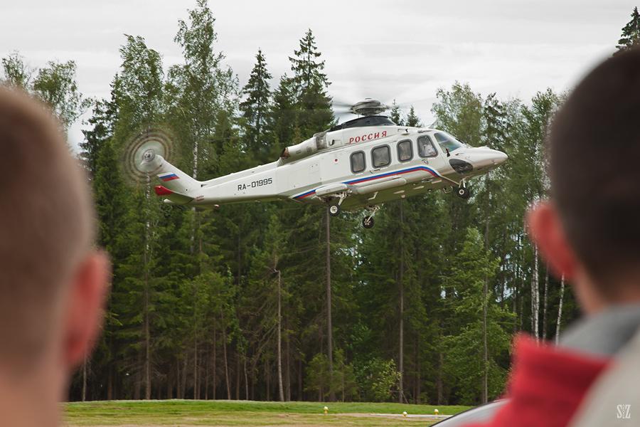 AgustaWestland AW139. Фотограф Сергей Захаров