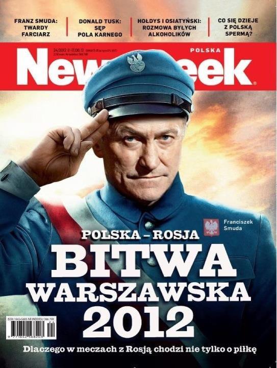 Матч Польша-Россия поляки назвали Варшавской битвой