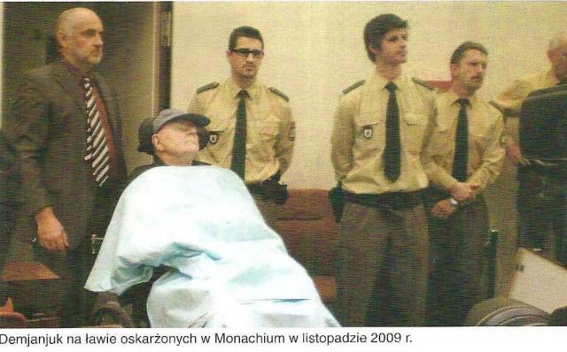 Иван Демьянюк на судебном процессе в Мюнхене. Ноябрь 2009 г.