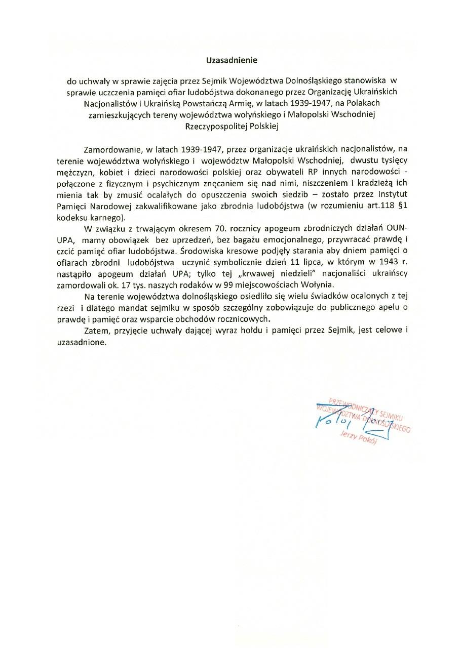Uchwala Nr XXXVII-1107-13 Sejmiku Wojewodztwa Dolnoslaskiego. S. 3
