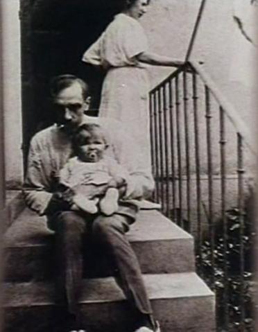 Н. С. Соколов с женой