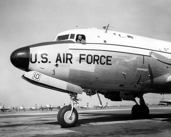 """Борт VC-54C """"Sacred Cow"""""""