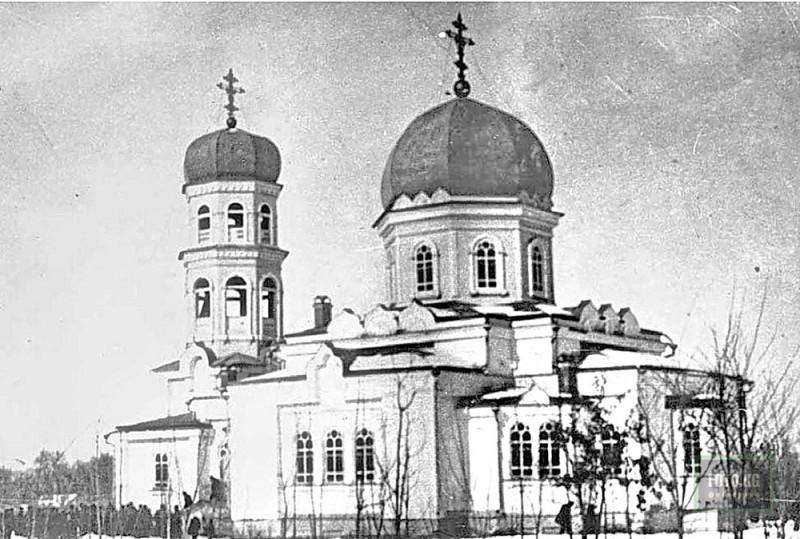 Храм Серафима Саровского. Пишпек. 1906 г.