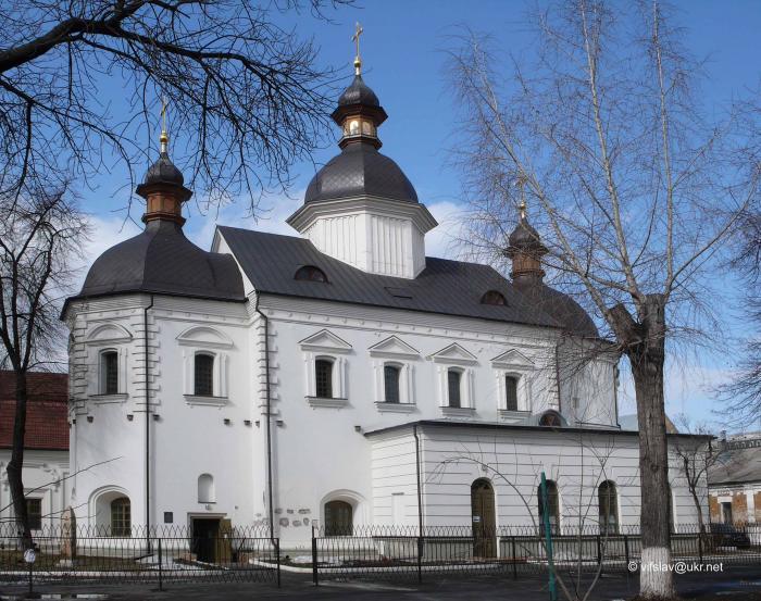 Ныне братская церковь оккупирована антиправославной по духу самозваной «Киево-Могилянской академией»