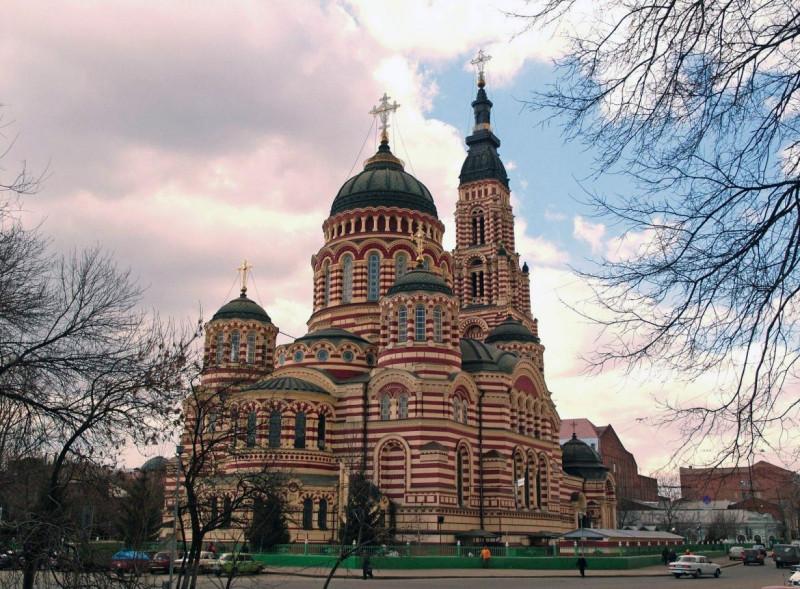 Благовещенский собор Харькова, где продолжаются чудеса у гроба святителя