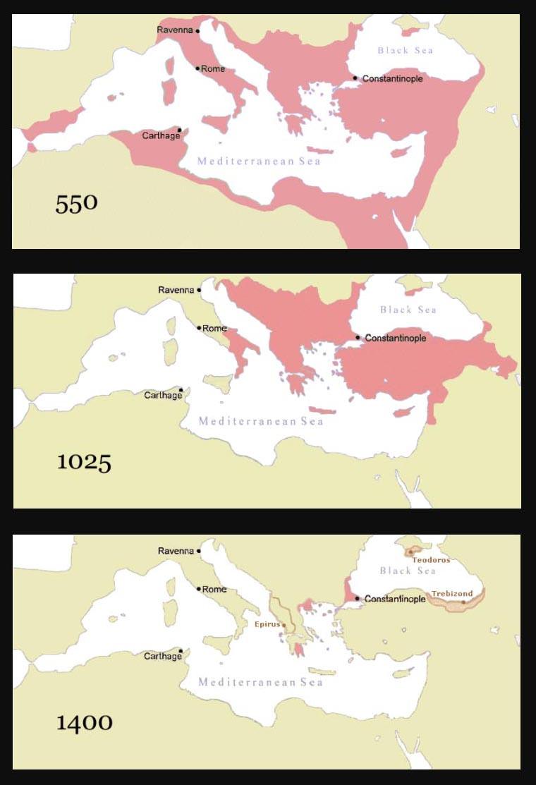 Ромейская империя в годы своего расцвета, в годы крещения Руси и в годы служения митрополита Фотия