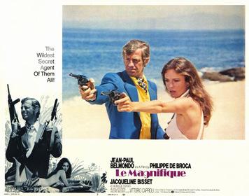 Постер к фильму «Великолепный» (1973) режиссёра Филиппа Де Брока