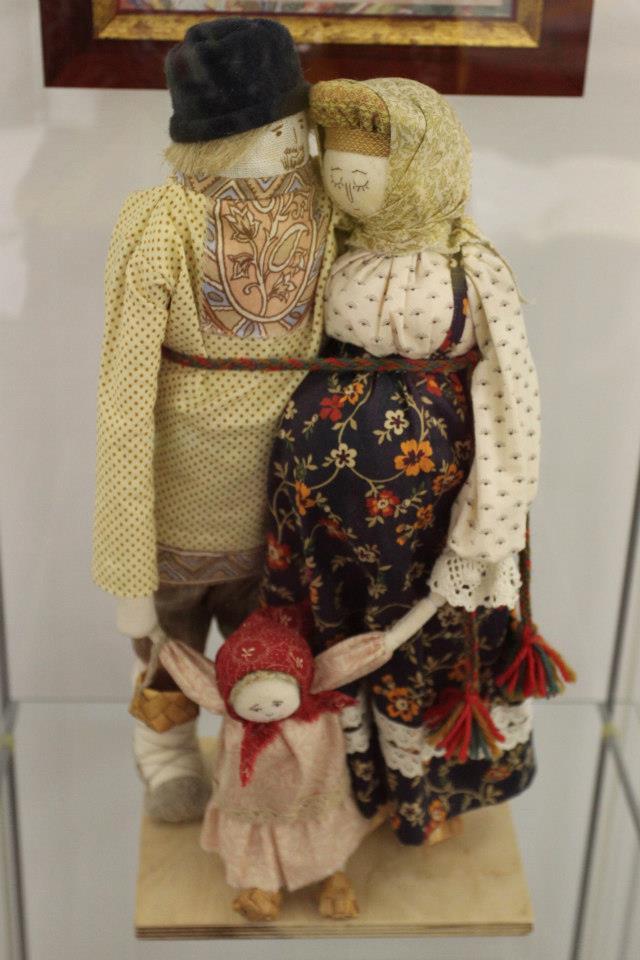 Народная тряпичная кукла своими руками