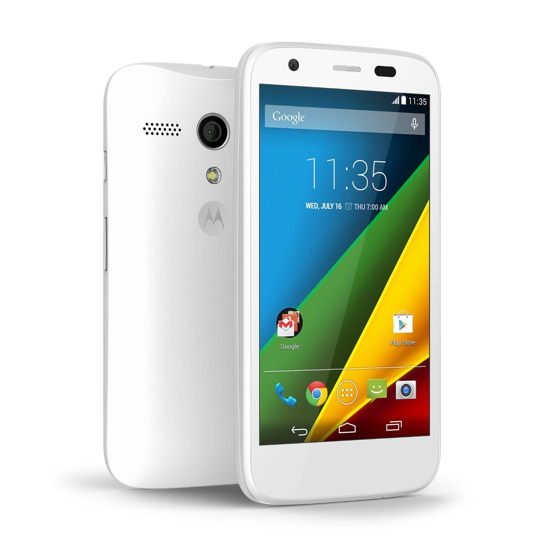 Moto 4 4g white