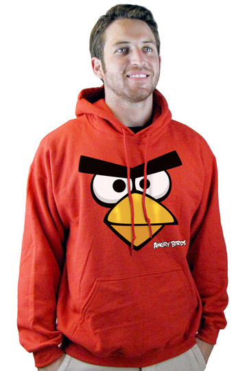 Толстовки Angry Birds