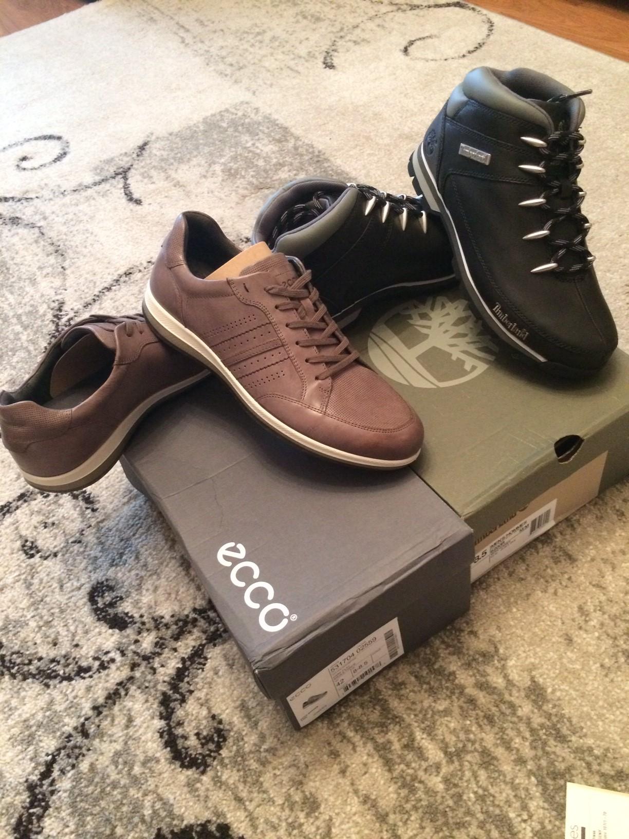 Присматривал себе обувь на осень и зиму. В блоге Титаниума обратил внимание  на английский магазин Bells Shoes. Выбор пал на демисезонные сникеры Ecco  ... 0a099fedd160d