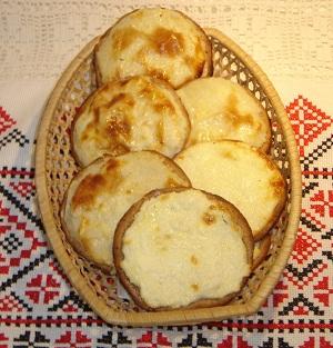Рецепт шанег с картошкой