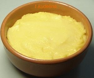 кукурузный маффин-тесто