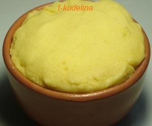 маффин кукурузный после выпечки