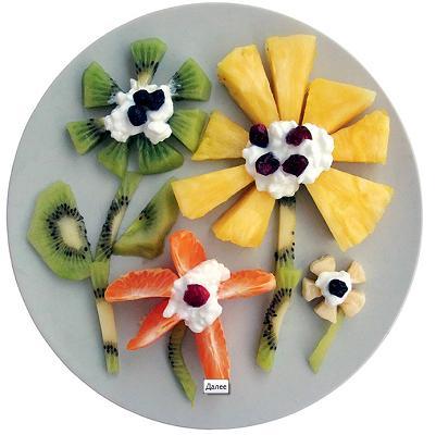 веселый витаминный завтрак