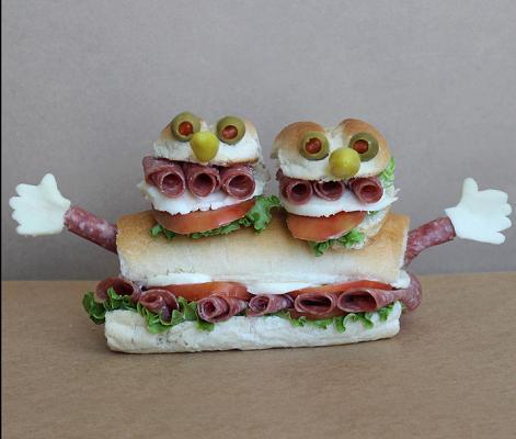 сэндвич монстр 2
