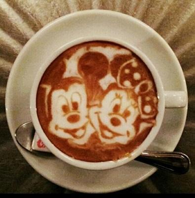 кофе латте 3