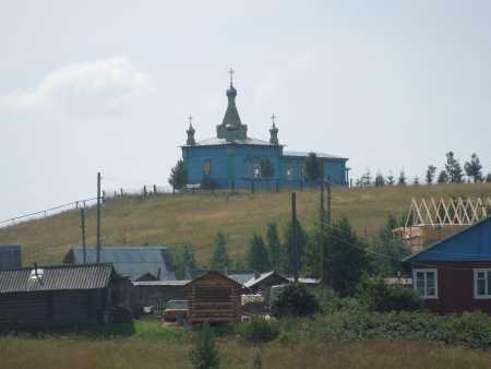 село Ыб -часовня