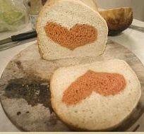 хлеб в узором