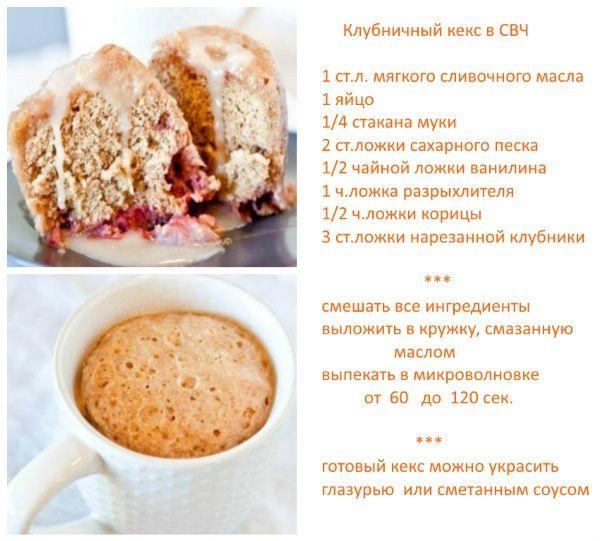 Рецепты за 5 минут с фото