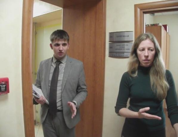 В Администрации - Сергей Куканов и его секретарь