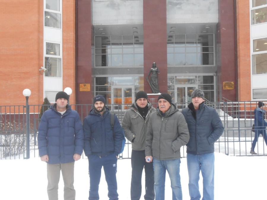 25 декабря, Одинцовский суд