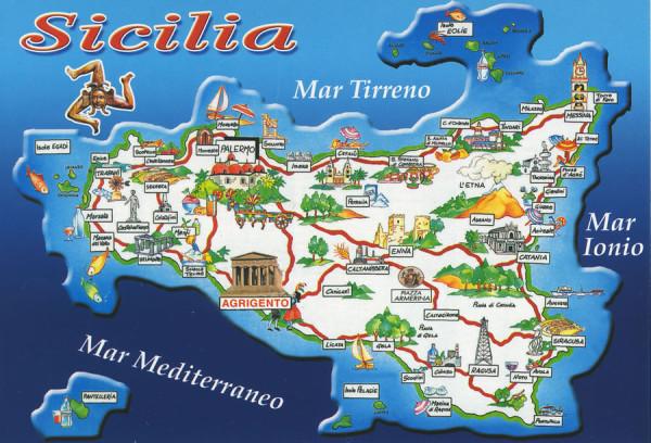 Sicilia Map