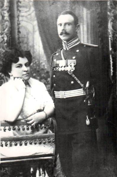 Борис Бунин с женой1