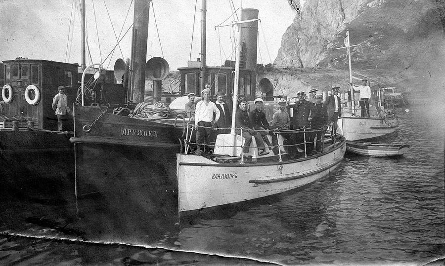 катера в Ковше