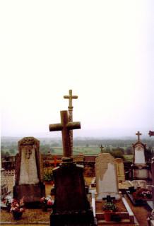 Нормандское кладбище/ Амени  15 октября