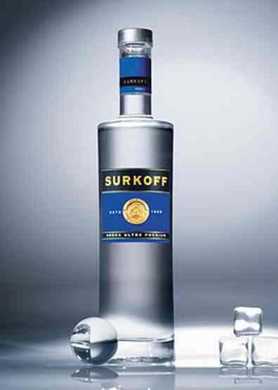 Водка Суркофф