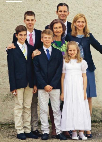 семья инфанты Кристины и королева София.jpg