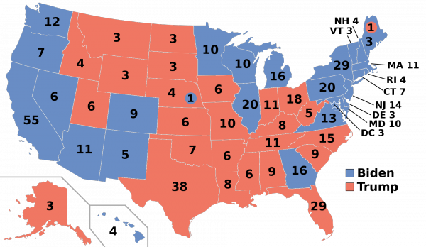 Map of the Electoral College for the United States presidential election, 2020..png
