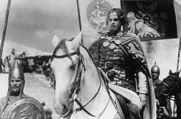 Aleksandr Nevski - Al frente de la caballería.jpg