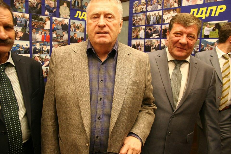 Жириновский и Шабеко