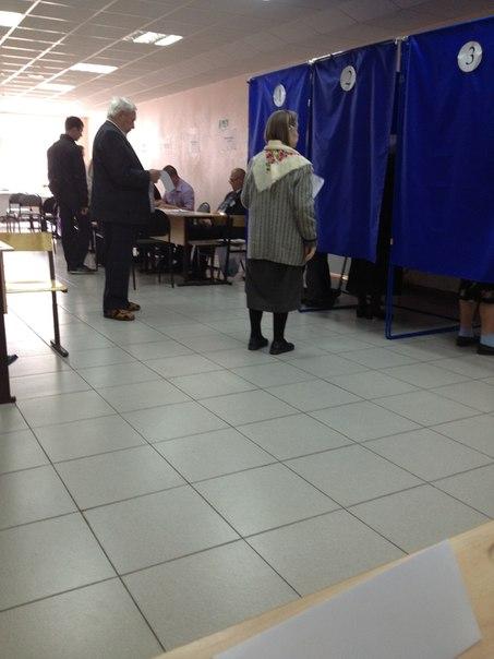 Кабинка для голосования2